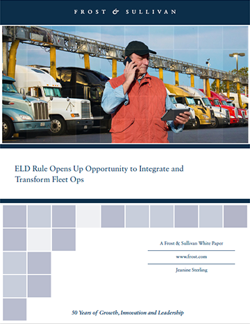 FMCSA's ELD mandate opens up opportunities for fleet management.